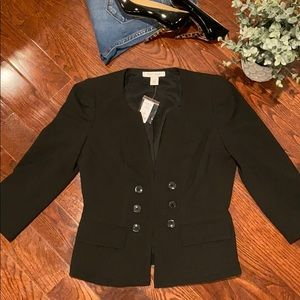 WHITE HOUSE | BLACK MARKET Double Breasted Blazer